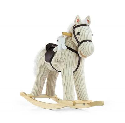 Cheval à bascule interactif enfant 3+ avec jouet en peluche Pony